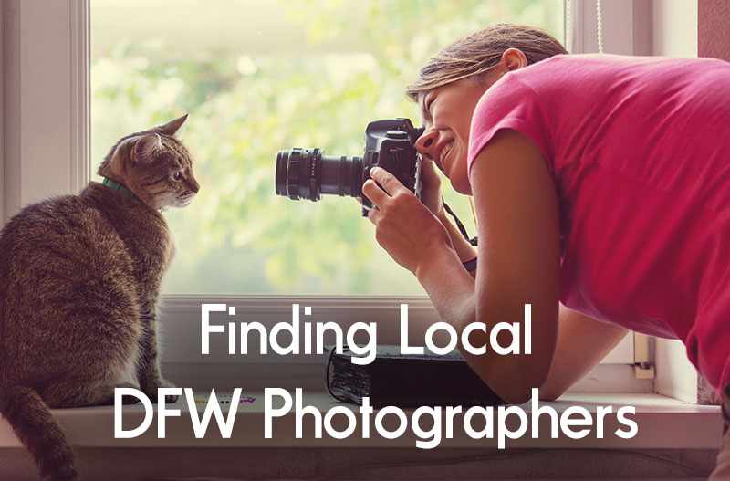 Finding Local DFW Photographers