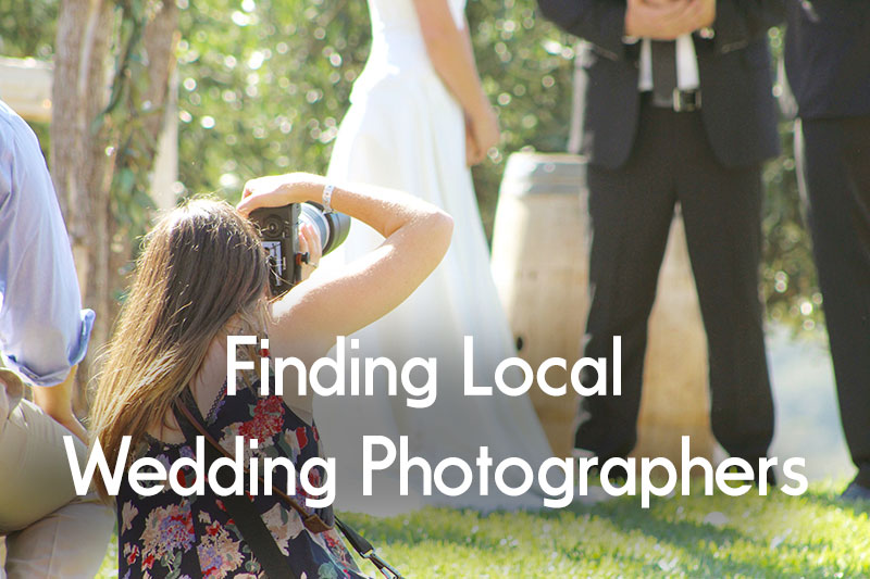 Finding Local DFW Wedding Photographers